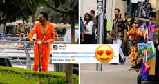 Akshay Kumar Was Spotted In Dubai On Tuesday And Fans Are Following Him Everywhere